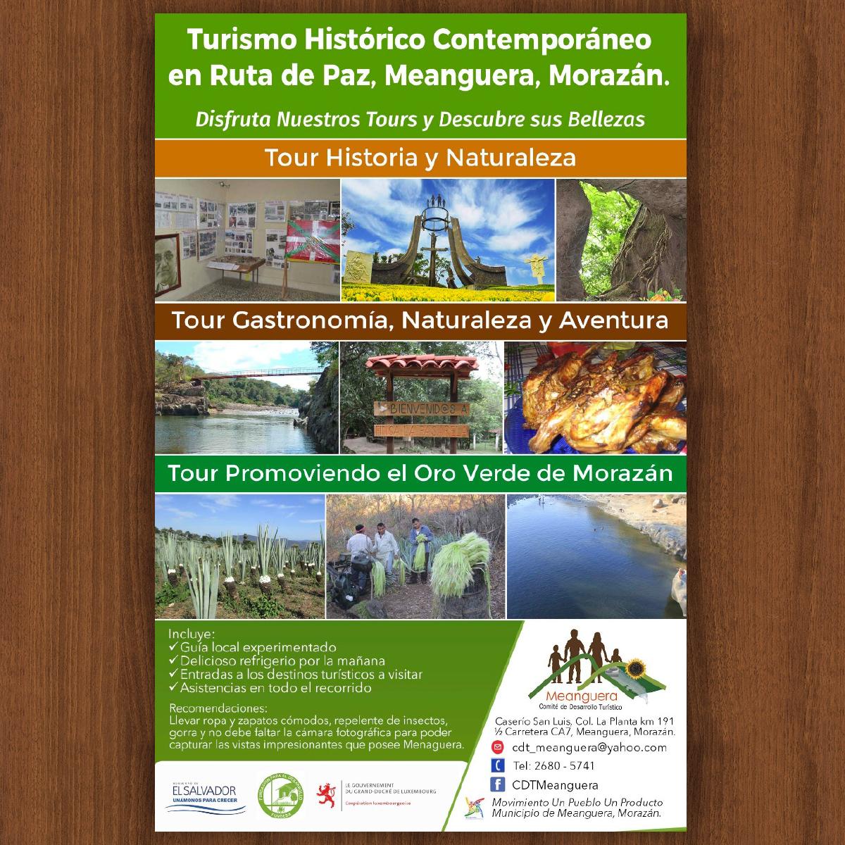 TURISMO HISTÓRICO CONTEMPORÁNEO EN RUTA DE PAZ, MEANGUERA, MORAZÁN