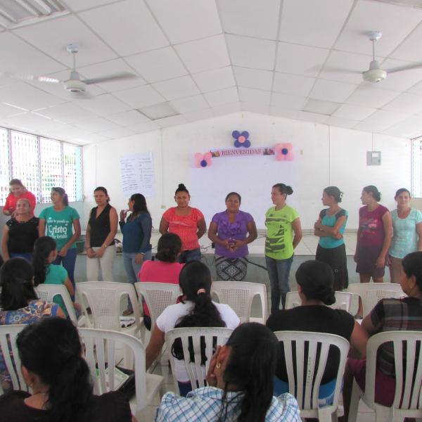 Comité de mujeres de San Antonio del Mosco - AACID