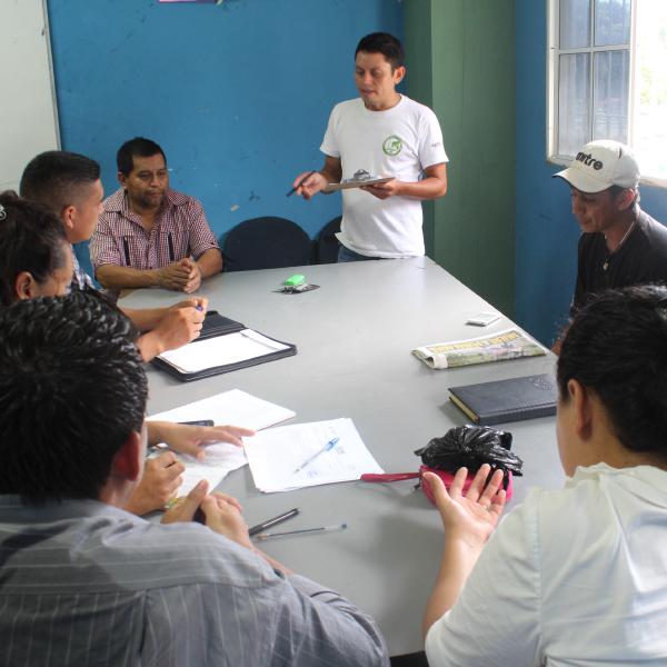 Proceso de fortalecimiento a Juntas Directivas de ADESCOS.