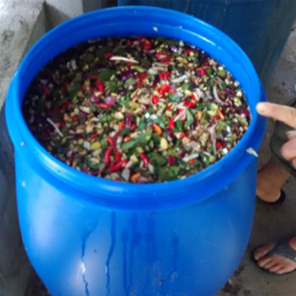 Repelente orgánico producido por las comunidades
